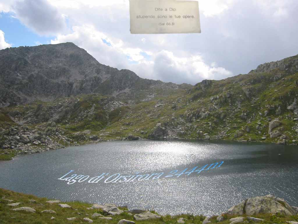 Lago di Orsirora