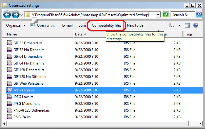 Invisible Files in Windows 7, 8 and 10 Program Files