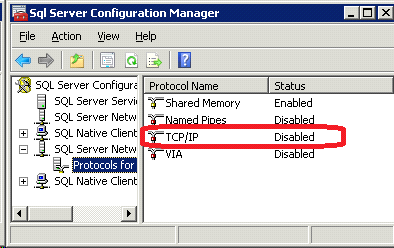 "SQL Error 80004005 - ""<b>Specified SQL server not found</b>"" - Solved"