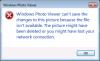 Windows Photo Viewer - Error