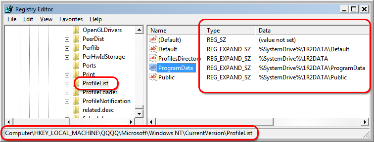 Win 7 and Win 8 - How to Rename All System Directories (and