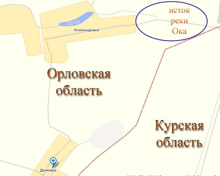 Где Начинается Река Ока?