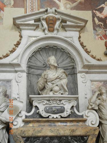 Basilica di Santa Croce - Tomba di Galileo Galilei