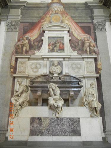Basilica di Santa Croce - Tomba di Michelangelo