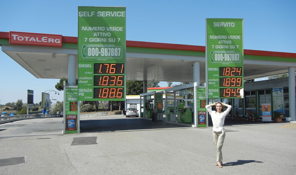 First Stop - Gasoline Prices