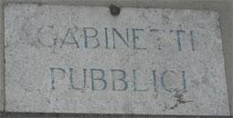 Viterbo - Gabinetti Pubblici