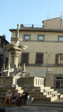Viterbo - Main Fountain