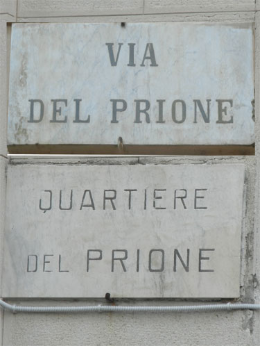 La Spezia - Via del Prione