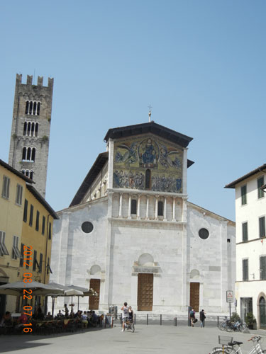 Lucca - Basilica of San Frediano