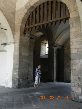 Lucca - Entering through Porta S Donato