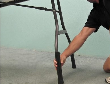 Install table legs