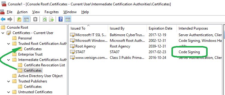 You can sign PowerShell certificates with New-SelfSignedCertificate and <b>without</b> MakeCert