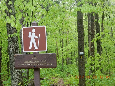 05-26 12;01 Landing Camp Trail