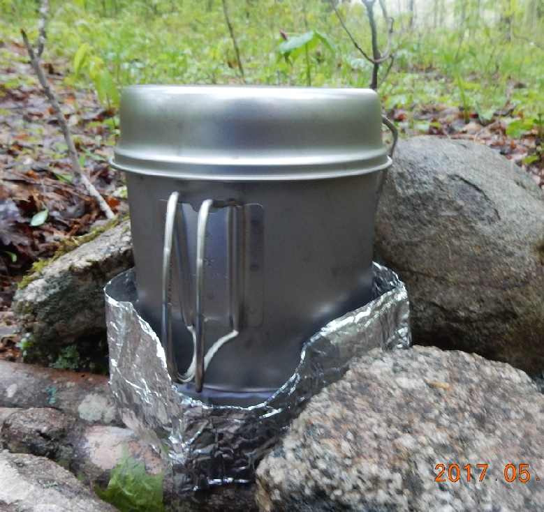 05-26 19;16 titanium stove and pot