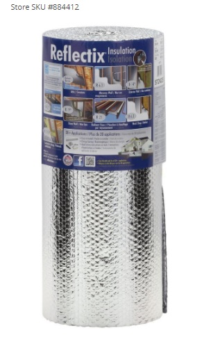 Reflectix 24 in x 25 ft Double Reflective Insulation
