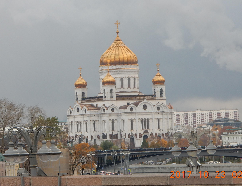 Октябрь 2017 - неожиданная поездка в Москву - отцу на 85